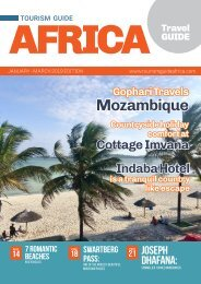 Tourism Guide Africa Travel Guide Jan - March 2019 edition