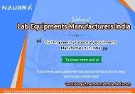Civil Engineering Laboratory Equipments Manufacturers