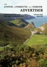 Lynton, Lynmouth and Exmoor Advertiser, February 2019