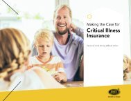 Making the Case for Critical Illness Insurance