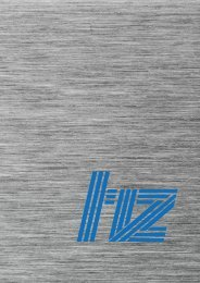 Imagebroschüre hz Soft- und Hardware GmbH
