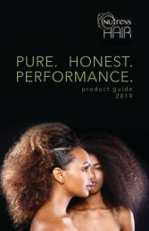 Nutress Hair 2019 Product Guide