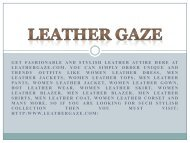 Leather Gaze NEW NAME IN LEATHER FASHION WORLD-converted