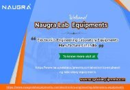 Electronics Engineering Laboratory Equipments Manufacturers