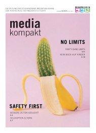 MEDIAkompakt 25: Safety First / No Limits