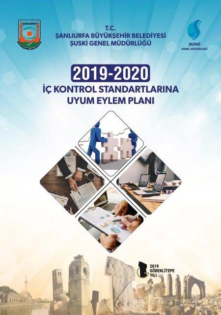 2019-2020 ŞUSKİ Genel Müdürlüğü İç Kontrol Standartlarına Uyum Eylem Planı