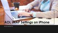 AOL IMAP Settings on iPhone - Tips