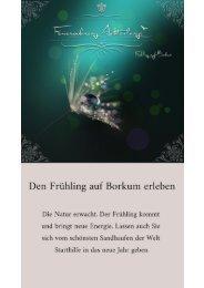 Frühling auf Borkum | Ferienwohnung Achterlangs