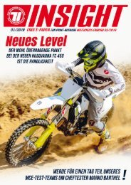 Motocross Enduro-INSIGHT Ausgabe 01-2019