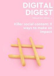 Digital Digest - FEBRUARY 19 - Edition 47