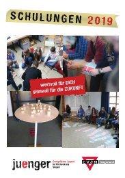2019 Schulungsheft | Evangelische Jugend im Kirchenkreis Siegen & CVJM Siegerland