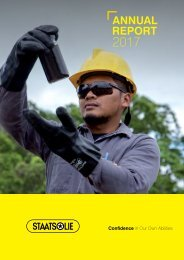 Staatsolie Annual Report 2017