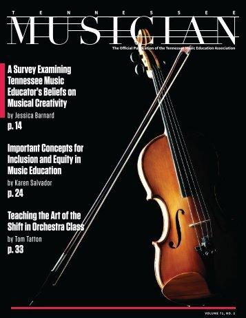 TN Musician Vol. 71 No. 2