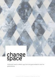 ChangeSpace 2019 Rug Catalogue