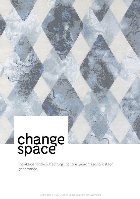 Changee 2019 Rug Catalogue