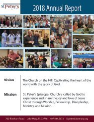 2019 St. Peters Annual Report