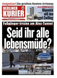Berliner Kurier 29.01.2019