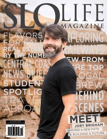 SLO LIFE Magazine Oct/Nov 2018