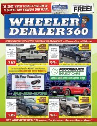 Wheeler Dealer 360 Issue 05, 2019