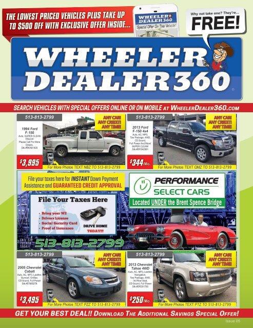 Wheeler Dealer 360 Issue 05, 2019