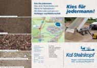Unser aktueller Flyer! - Kai Steinkopf