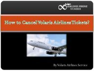 How to Cancel Volaris Airlines Tickets