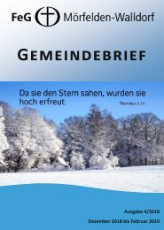 Gemeindebrief Dez 2018 - Feb 2019_final
