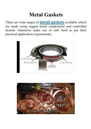 Flexible Graphite Gaskets