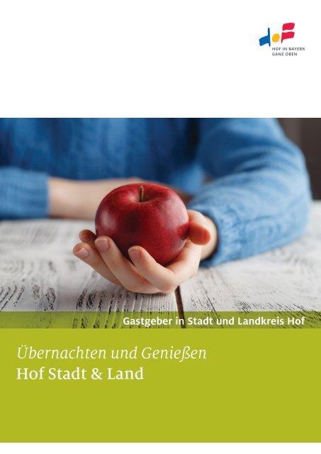 Gastgeberverzeichnis Hof