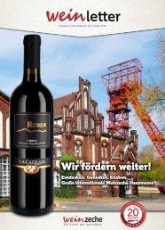 Weinzeche Weinletter 2_2019 – Die Kunst des Genießens