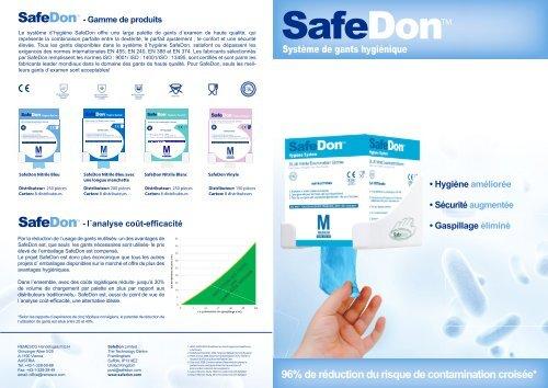 Flyer SafeDon