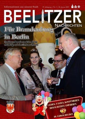 Beelitzer Nachrichten - Januar 2019