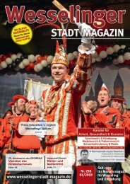 Wesselinger Stadt Magazin Januar 2019