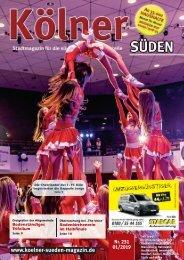 Kölner Süden Magazin Januar 2019