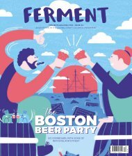 Ferment Issue 34 // Boston Beer Party