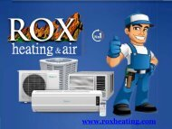 Install Top Quality HVAC Appliances Through A Certified Contractor
