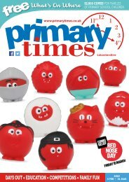Primary Times Leicestershire