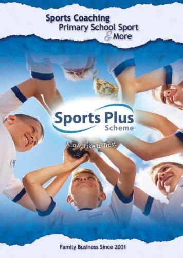 Sports Plus Scheme Portfolio NO PRICES