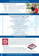 Sports Plus Scheme Portfolio NO PRICES - Page 4