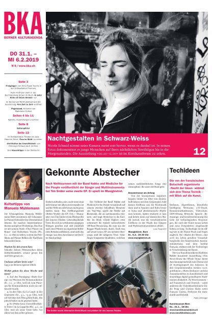 Berner Kulturagenda N°4