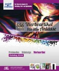 Werbeartikel-Katalog 2019 - point of media Verlag