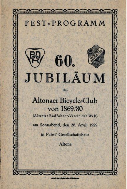 ABC Festschrift 60. Jubiläum