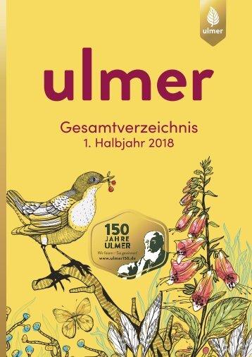 Ulmer Gesamtverzeichnis 2018