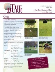 Golf April 2008
