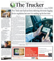 The Trucker Newspaper - February 1, 2019