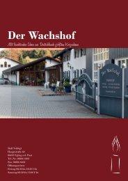 Wachshof Katalog 2019
