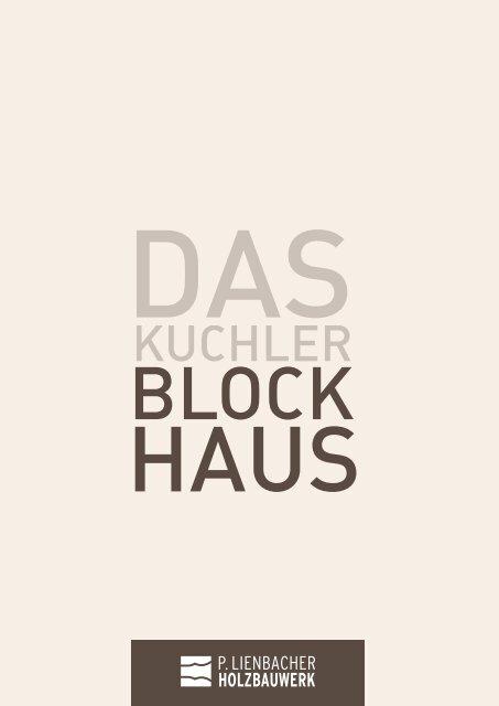 Kuchler Blockhaus Prospekt