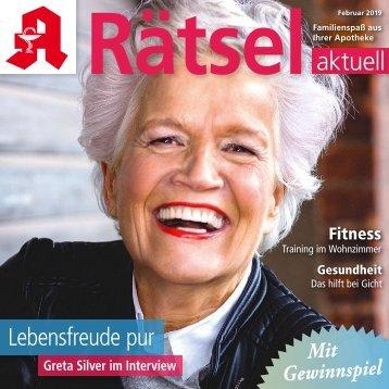"Leseprobe ""Rätsel-aktuell"" Februar 2019"