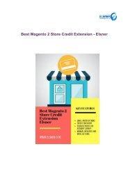 _Best Magento 2 Store Credit Extension - Elsner
