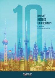 Revista 10 Anos de Missões Educacionais SINEPE/DF